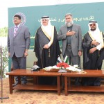 Flag-hoisting ceremony and book exhibition at IRI