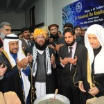 Dr. Muhammad Bin Abdulkarim Al-Eisa, Secretary General, Muslim World League laid down the foundation stone of Dr. Ishtiaq Hussain Qureshi Conference Hall at Islamic Research Institute, IIUI