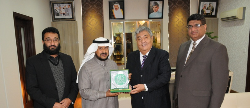 Ambassador of Kazakhstan in Pakistan, H.E. Bakhitbek Shabarbayev meets President IIUI