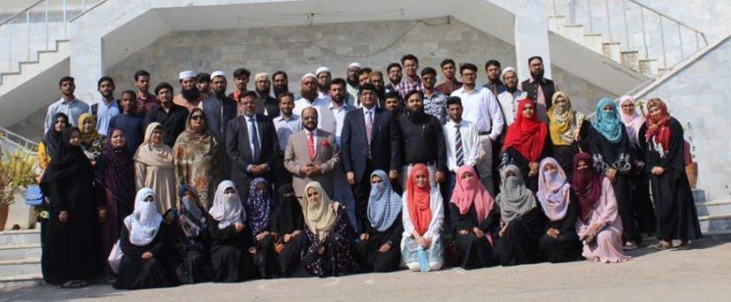 Two day training workshop on Naujawanan-e-Pakistan at Sheikh Zayed Islamic Centre, University of Karachi